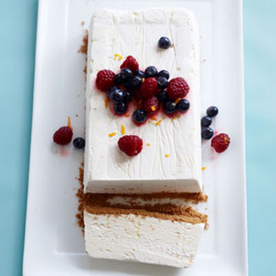 Semifreddo with Honeyed Fresh Berries