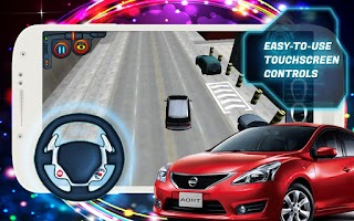 Screenshot of Parking 3D 2014 RUN