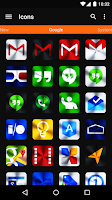 Screenshot of Vivid - Icon Pack