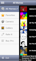 Screenshot of iMeme Meme Creator
