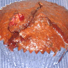 Burstin' Berries Double Chocolate Muffins