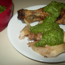 Aji Verde Sauce (For Peruvian Chicken)