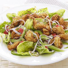 Popcorn Shrimp Salad