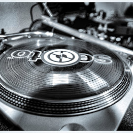 My Technics 1200 HDR by Frankie Acevedo - Artistic Objects Musical Instruments