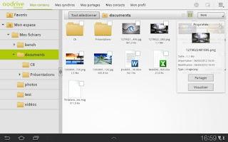 Screenshot of Oodrive Mobile