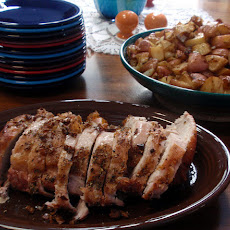 Pawpaw's Sunday Garlic Pork Roast