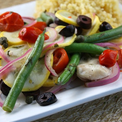Tilapia & Summer Vegetable Grill Packets
