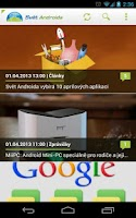 Screenshot of SvetAndroida.cz