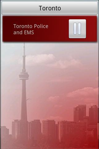 Toronto Police Fire Scanner