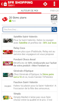 Screenshot of SFR Shopping