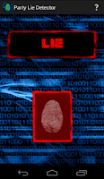 Screenshot of Lie Detector Party Game