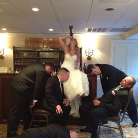 Quite the reception by Kathy Polcsan - Wedding Reception