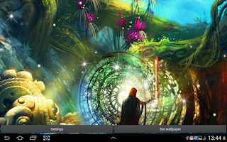 Screenshot of Magic Live Wallpaper