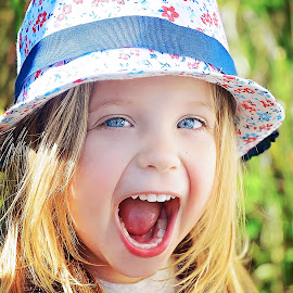 Open wide! by Lucia STA - Babies & Children Child Portraits