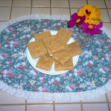 Rolled Oats Shortbread