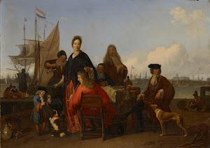 RIJKS: Ludolf Bakhuysen: painting 1702