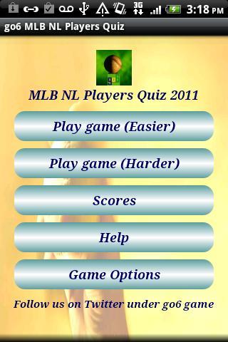 go6 MLB NL Players Quiz