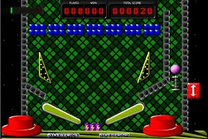 Screenshot of Pinball Breakout Laser