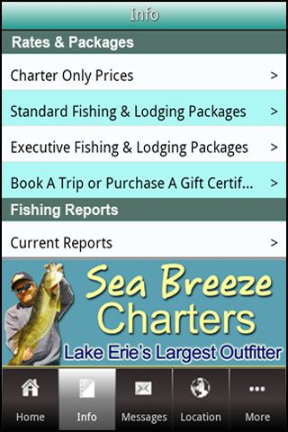 玩運動App|Sea Breeze Charters免費|APP試玩