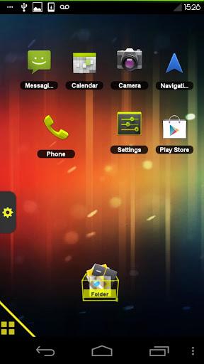 TSF Shell Theme ICS Yellow