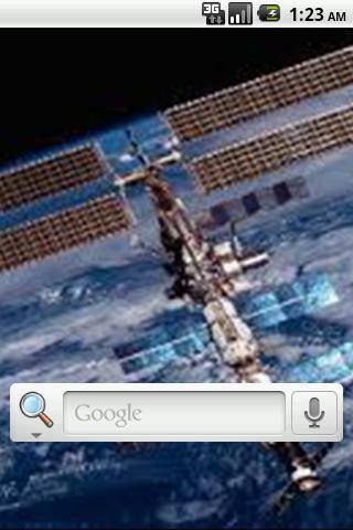 NASAライブ壁紙