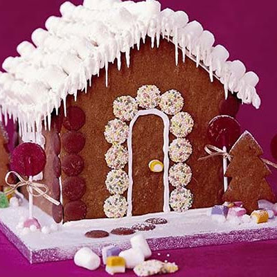 Gingerbread Cookie Cottage