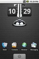 Screenshot of Retro Flip Down Clock 4x2