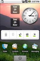 Screenshot of Date & Day Widget