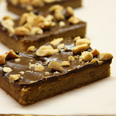 Mocha Toffee Cashew Bars