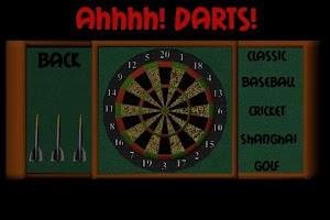 Screenshot of Ahh Darts!