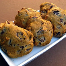 Pumpkin Chocolate Chips Cookies
