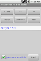 Screenshot of Aviation Pilot LogBook