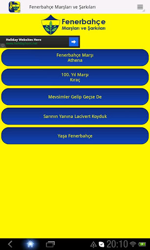 Fenerbahçe Marşları