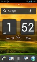 Screenshot of HTC Sense GO Launcher EX Theme