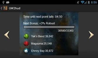 Screenshot of GW2hud for Guild Wars 2