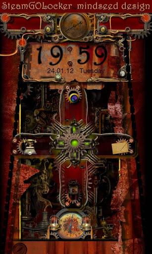 Steampunk GO Locker Theme