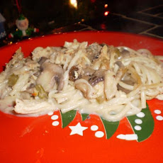 Lighter Chicken Tetrazzini