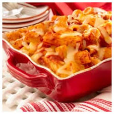 Hearty Baked Rigatoni