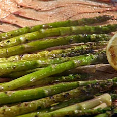 Grilled Asparagus with Lemon and Olive Oil