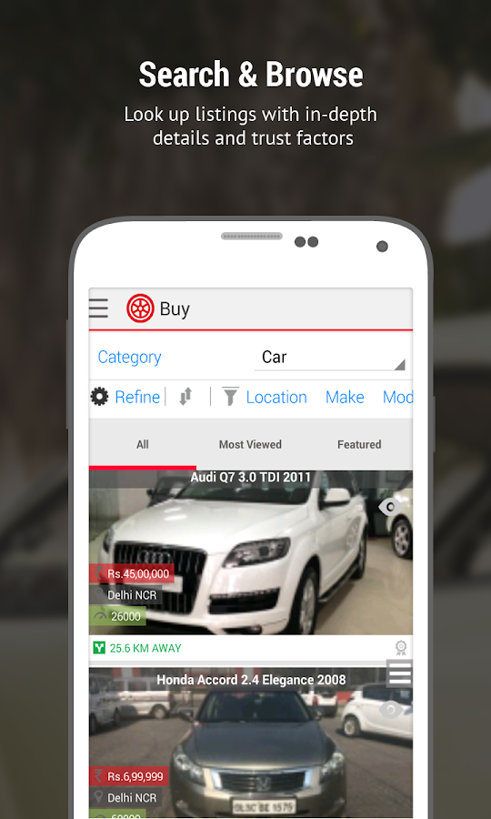 Droom: Used & New Cars & Bikes Screenshot 2