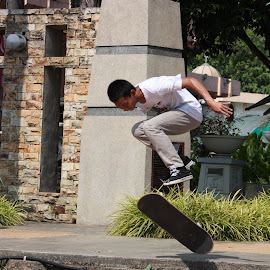 by Wan Azizul Azar Aziz - Sports & Fitness Skateboarding