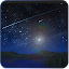 Meteors star firefly Wallpaper APK for Blackberry