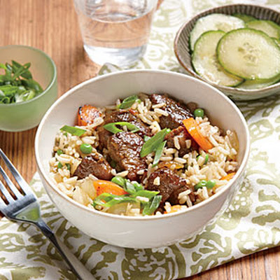 Soy-Braised Pork and Rice