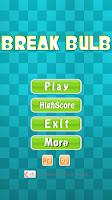 Screenshot of Broken Screen - Break Bulb