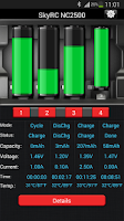 Screenshot of SkyRC Smart Charger