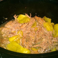 Crock Pot Pepperoncini Beef Roast