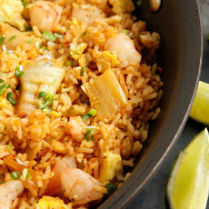 Kimchi and Shrimp Fried Rice