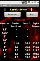 Screenshot of Fire Calculator