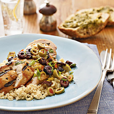 Lemon-Olive Grilled Chicken