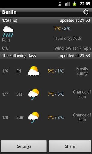 当たる、天気予報アプリ 10選【iPhone/Android】 | アプリオ